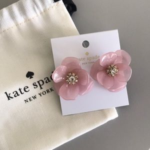 Kate Spade Slide of Stone Statement Earrings